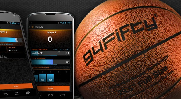 94Fifty smart basketball