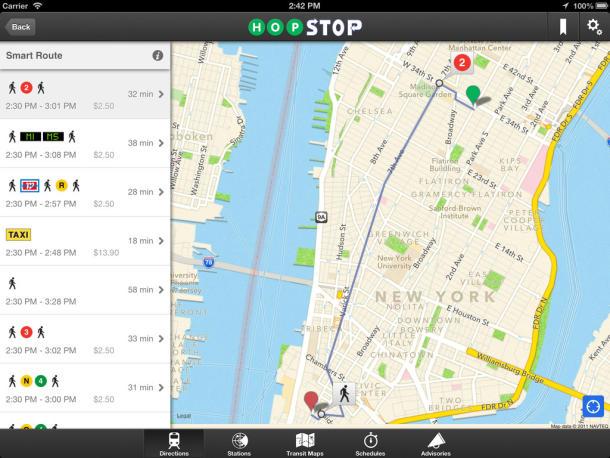 Apple has confirmed Hopstop acquisition.