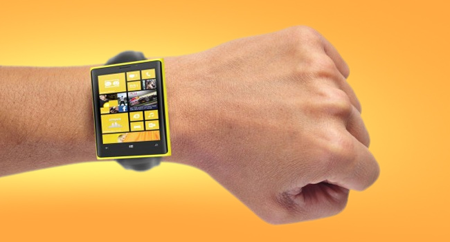 Microsoft smart watch, allegedly,