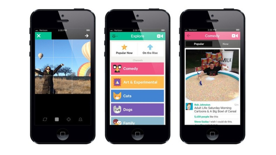 Vine now has Revine feature