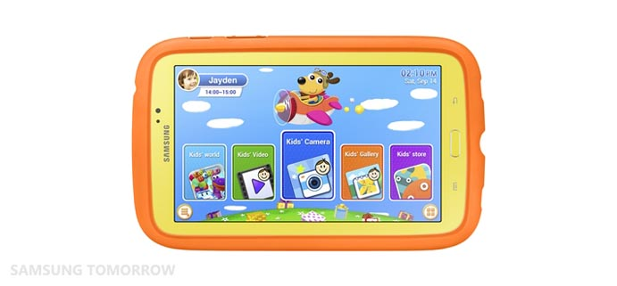 Samsung Galaxy Tab 3 Kids, the Samsung tablet for kids