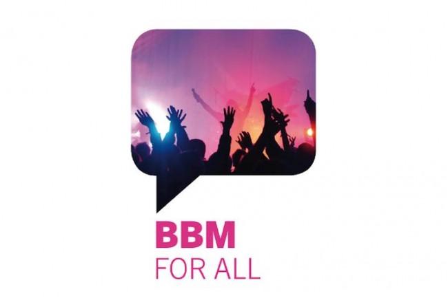 BlackBerry Messenger for all