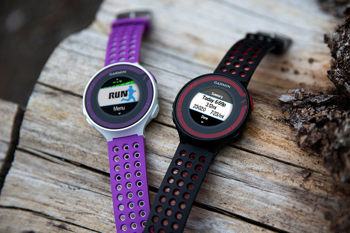 Garmin Forerunner 220 and 620