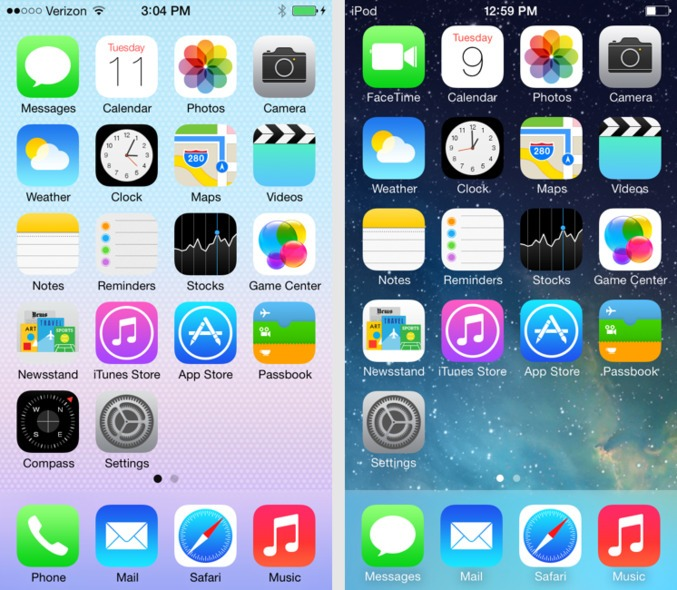 iOS 7 now available for download