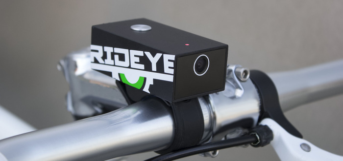 Rideye black box camera for bicycles