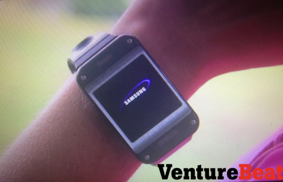 Samsung Galaxy Gear prototype