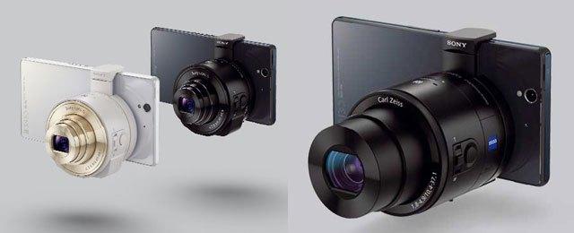 Sony QX10 and Sony QX100