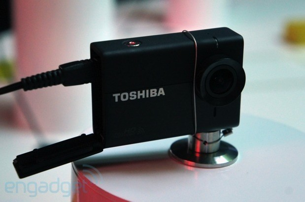 Toshiba Camileo X-Sports action camera