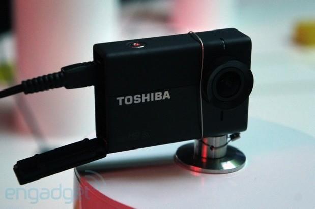 Toshiba Camileo X-Sports action camera