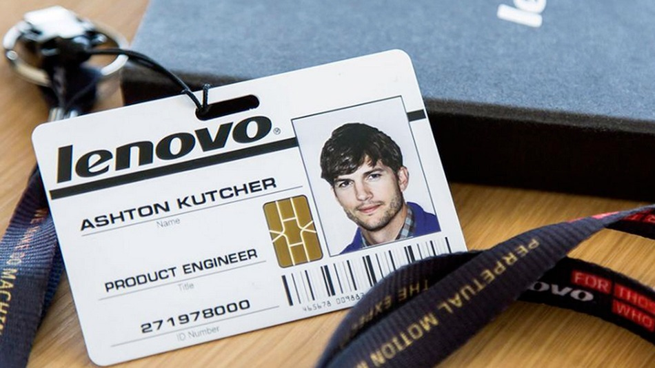 Ashton Kutcher for Lenovo