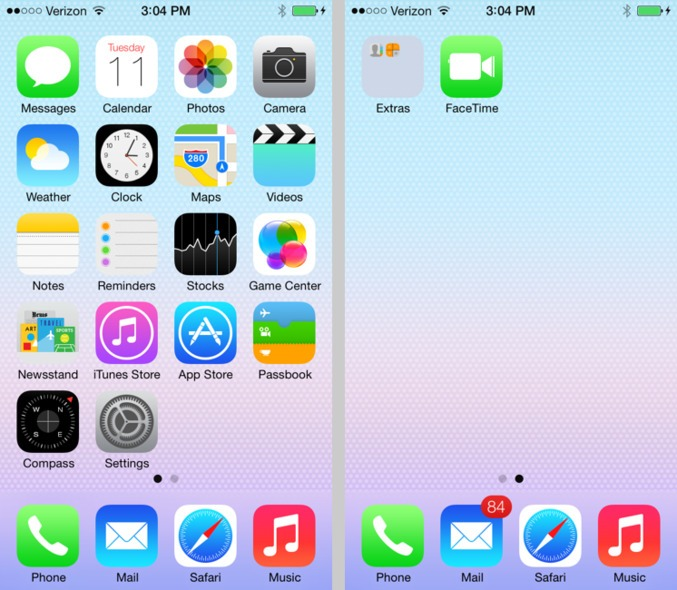 New hidden features of iOS 7