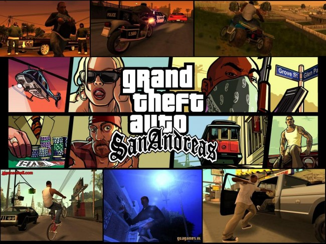 Grand Theft Auto: San Andreas mobile edition