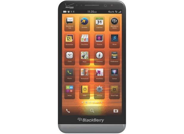 BlackBerry Z30 coming to Verizon