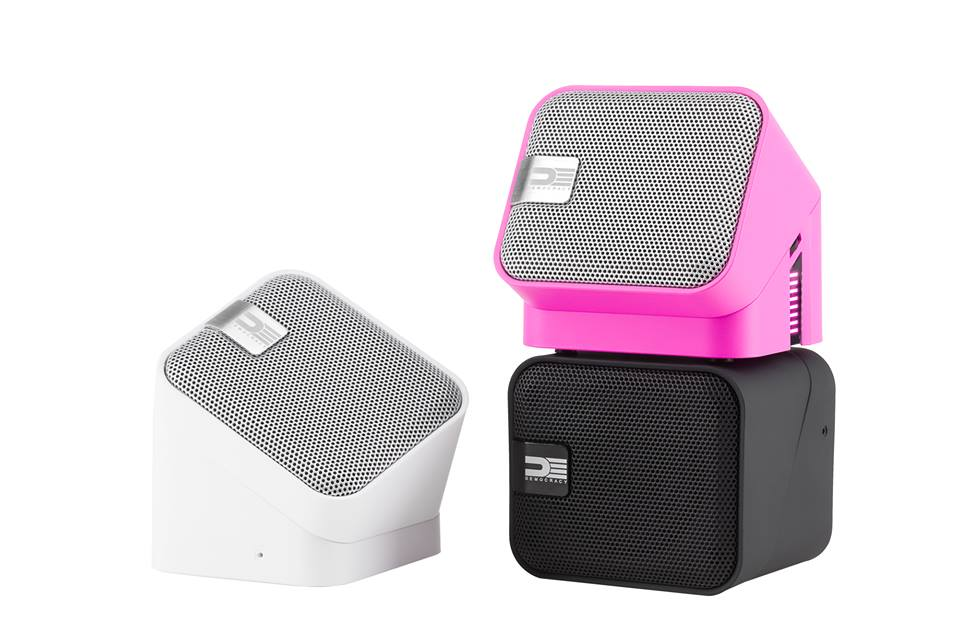 DEMOCRACY Bluetooth wireless speaker