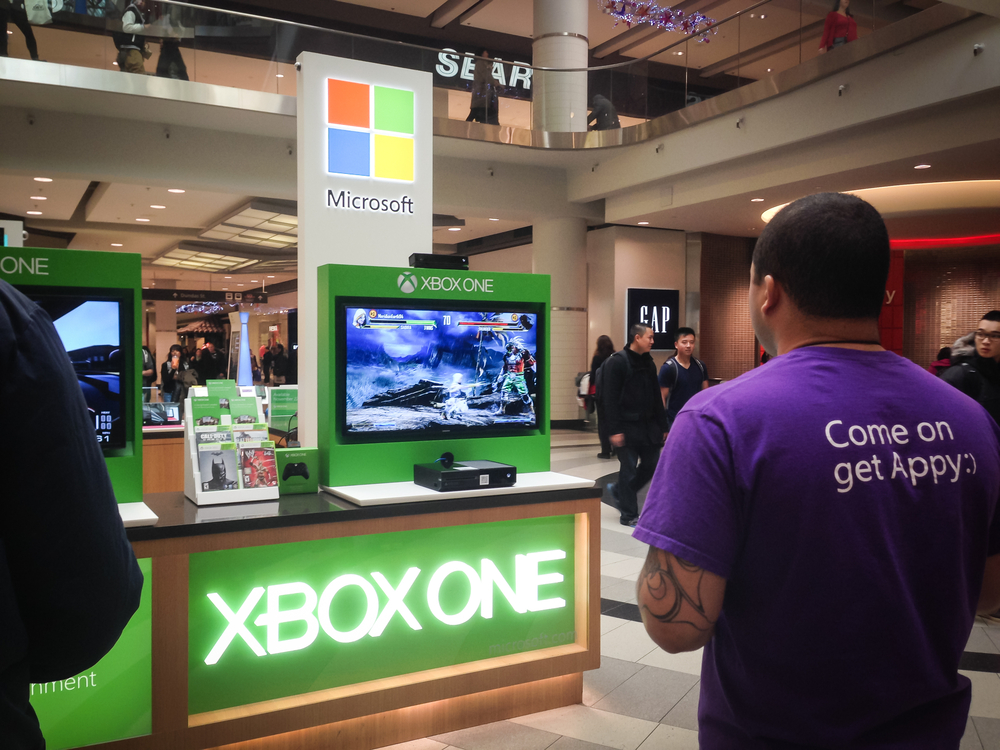 One million Xbox One units were sold on its first day of retail.