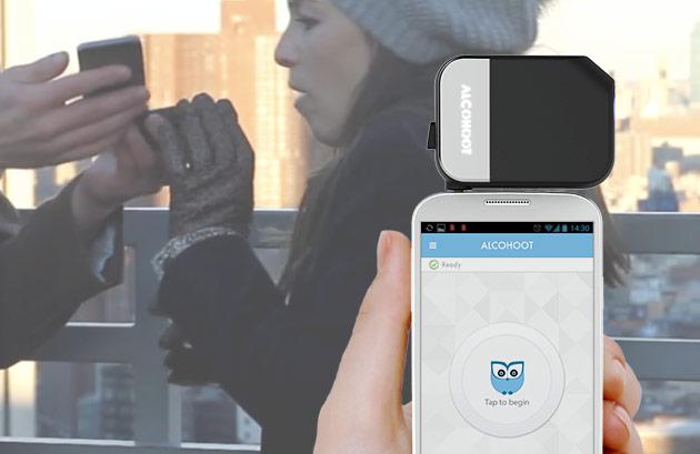 Alcohoot smartphone breathalyzer