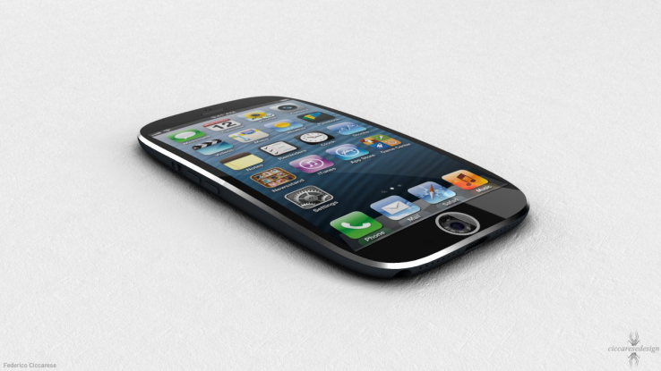 Recent patent speculates about Apple curved smartphone.