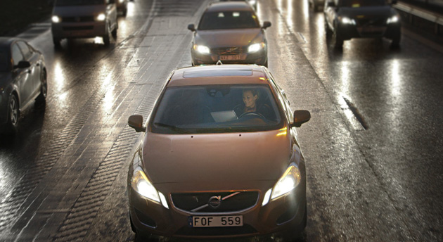 Volvo self-driving cars