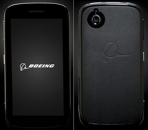 Black, the Boeing smartphone
