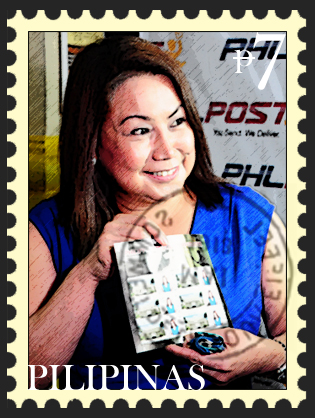 Selfie stamp