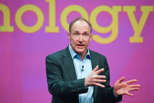 Tim Berners-Lee, inventor of World Wide Web