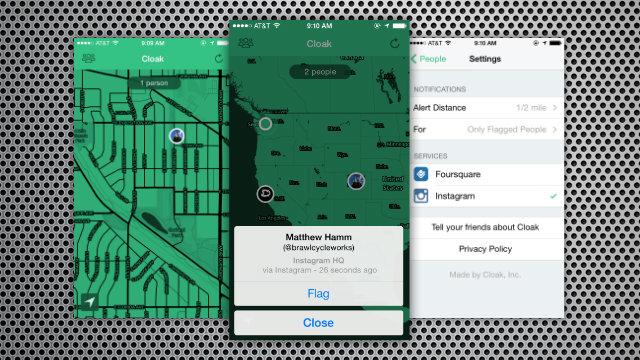 Cloak anti-social app