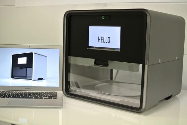 Foodini, a food 3D printer