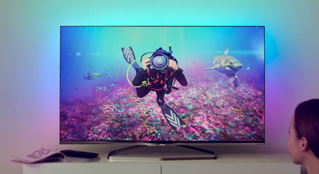 Philips Android powered TV sets