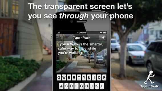 Apple applies transparent texting patent