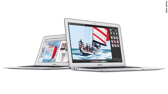 New MacBook Air notebooks are faster and cheaper