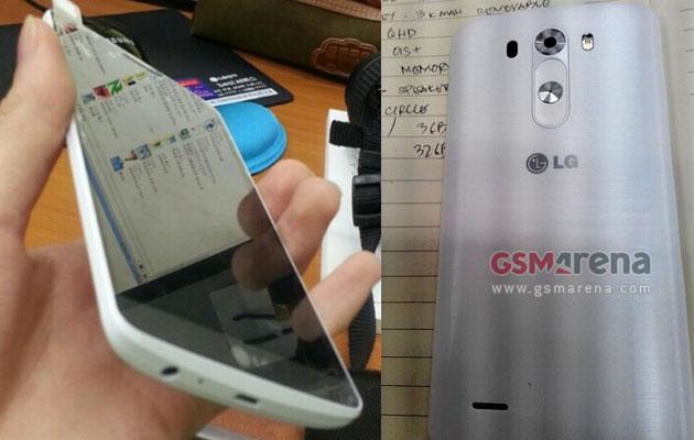 LG G3 leaked online