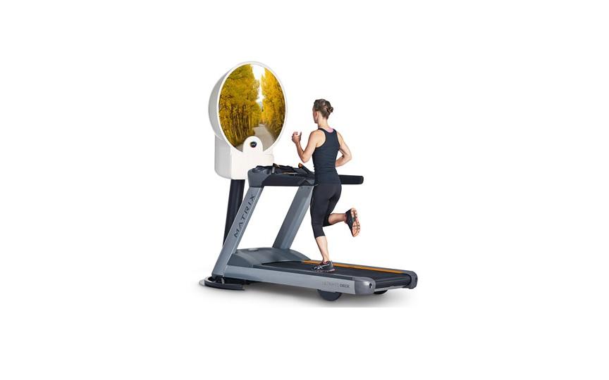 virtual treadmill run
