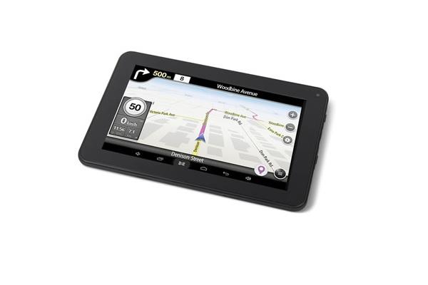 built in gps radio tablet