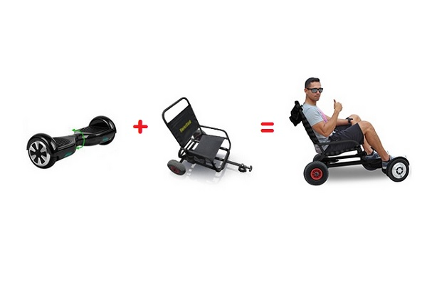 Hoverboard Seat Attachment
