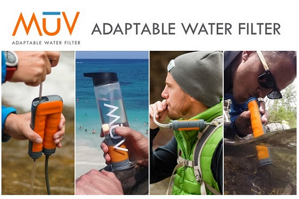 adaptable water filter