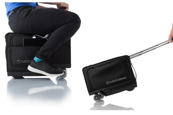 motorized travel luggage