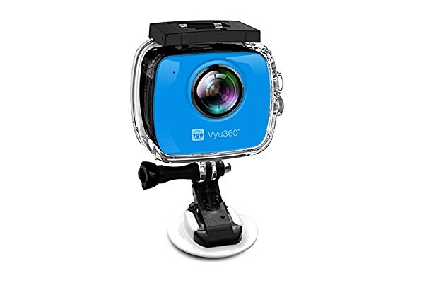 360 degree action camera